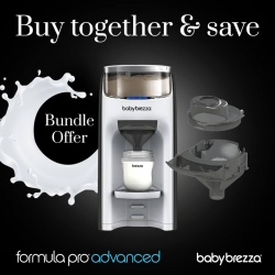 Baby Brezza Formula Pro Advanced With Funnel And Cover