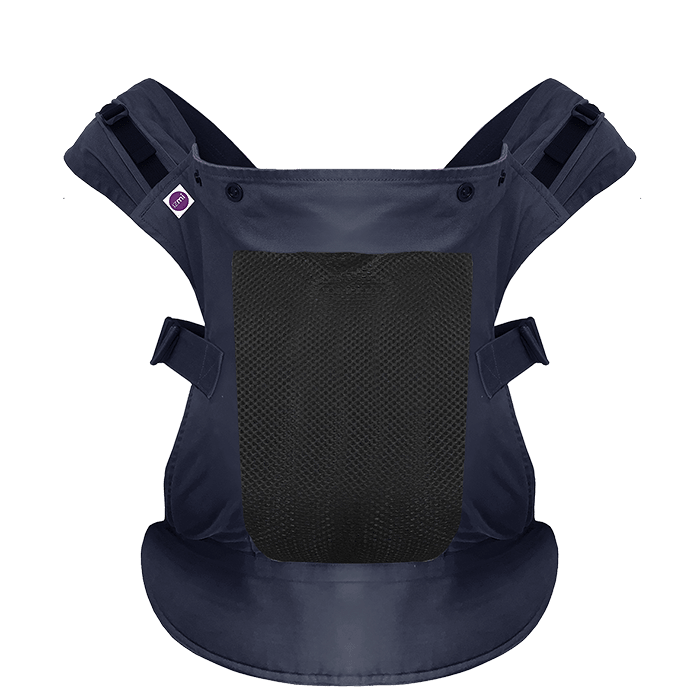 Izmi Toddler Breeze Carrier / Cotton MESH / Midnight Blue