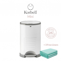 Korbell Mini 9L Bin Bundle (with Free Liner)
