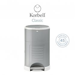 Korbell Nappy Bin / Classic 16 litre / Grey