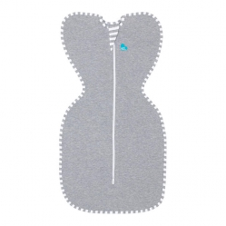 Love To Swaddle UP Original 1.0 TOG / S / Grey