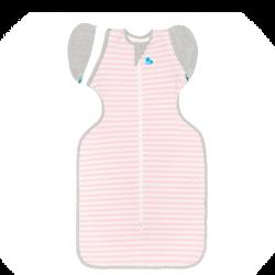 Love To Swaddle UP 50/50 Transition Bag 1.0 TOG / XL / Pink