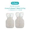 Love To Dream 2 Pack Warm 2.5 Tog Starter Pack (1 X Newborn And 1 X Small WHITE)