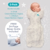 Love To Dream 2 Pack Bamboo Starter Pack - Includes  2 x Stage One 1.0 tog Swaddles