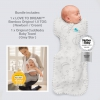Love To Dream Bath and Bed Starter Pack Bamboo (1 X NB and 1 X Cuddledry Bath Towel)