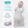 Love To Dream 2 Pack Warm 2.5 Tog Starter Pack (1 X Small And 1 X Medium BLUE)