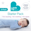 Love To Dream 3 Pack Newborn Starter Pack