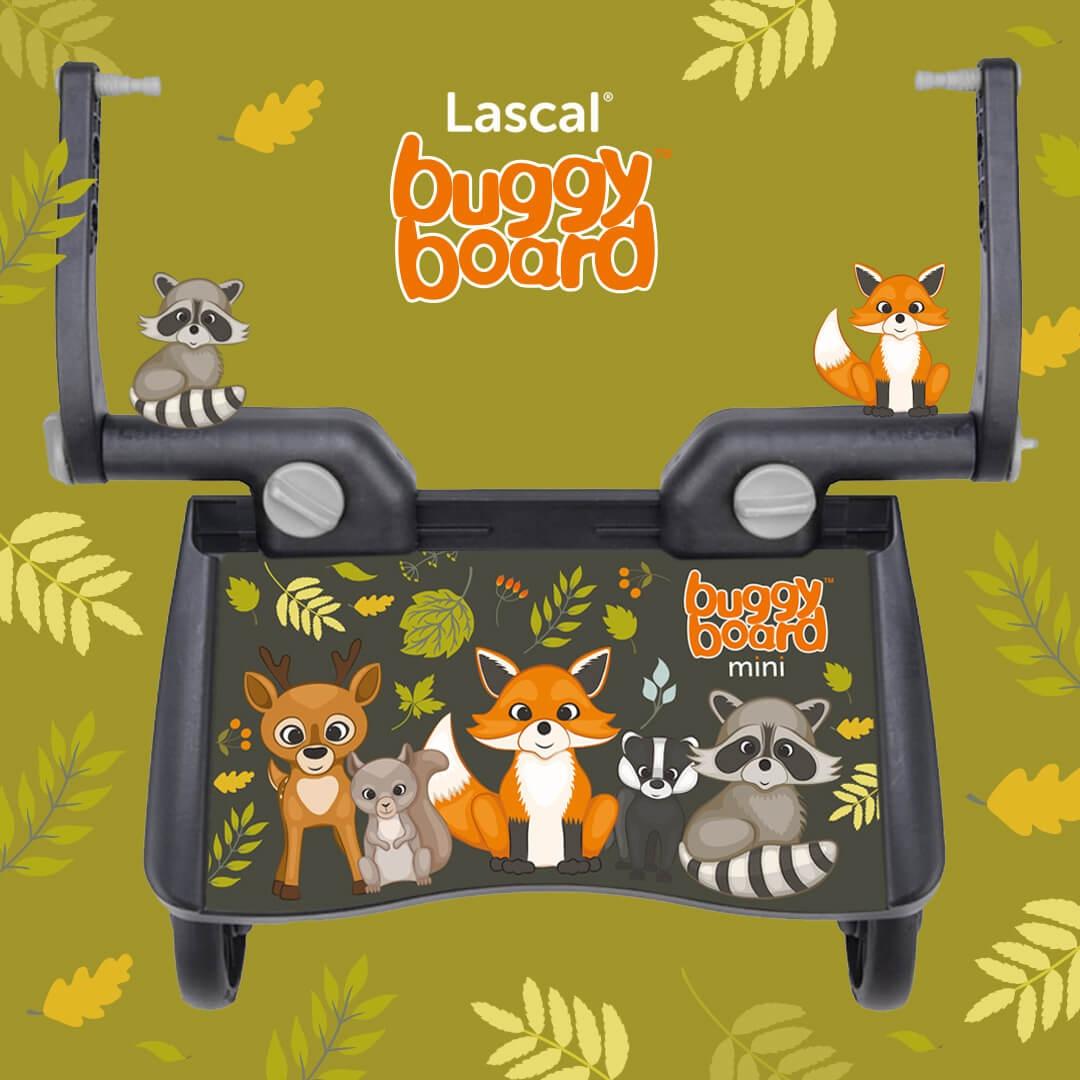 Lascal Mini BuggyBoard / Woodland Animals