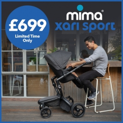 Mima Xari Sport Limited Edition Bundle With Carrycot And BeSafe Car Seat - Was £1135 / Now £699