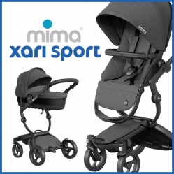 Mima Xari Sport Limited Edition Bundle With Carrycot And BeSafe Car Seat