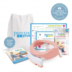 Potette Potty Training Starter Kit / Peach