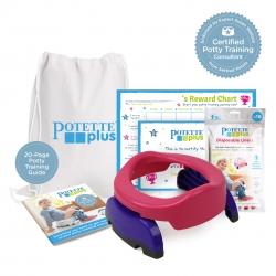 Potette Potty Training Starter Kit / Pink & Purple