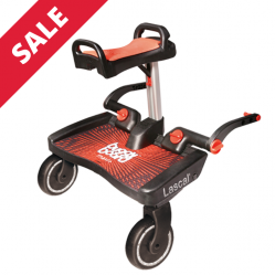 Lascal Maxi Plus / Red BuggyBoard Plus Red Saddle - Was £120 now only £95
