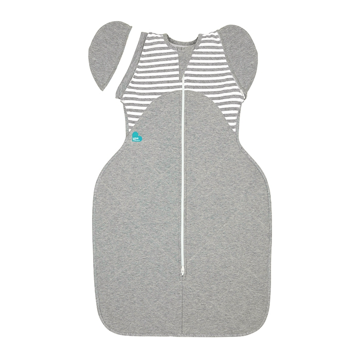Love To Swaddle UP WARM 50/50 Transition Bag 2.5 TOG / XL / Grey Stripe
